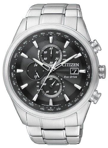 Citizen Herren-Armbanduhr XL Analog Quarz Edelstahl AT8011-55E