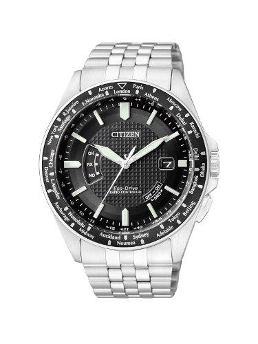 Citizen Herren Analog Quarz Uhr mit Edelstahl Armband CB0021-57E