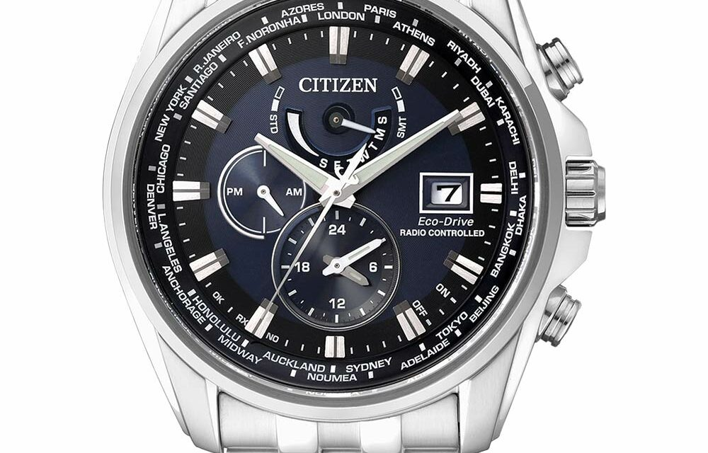 Funkuhr Citizen AT9030-55L