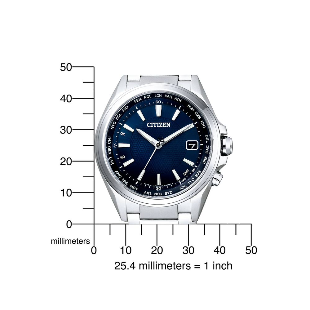 Funkuhr Citizen CB1070-56L 1