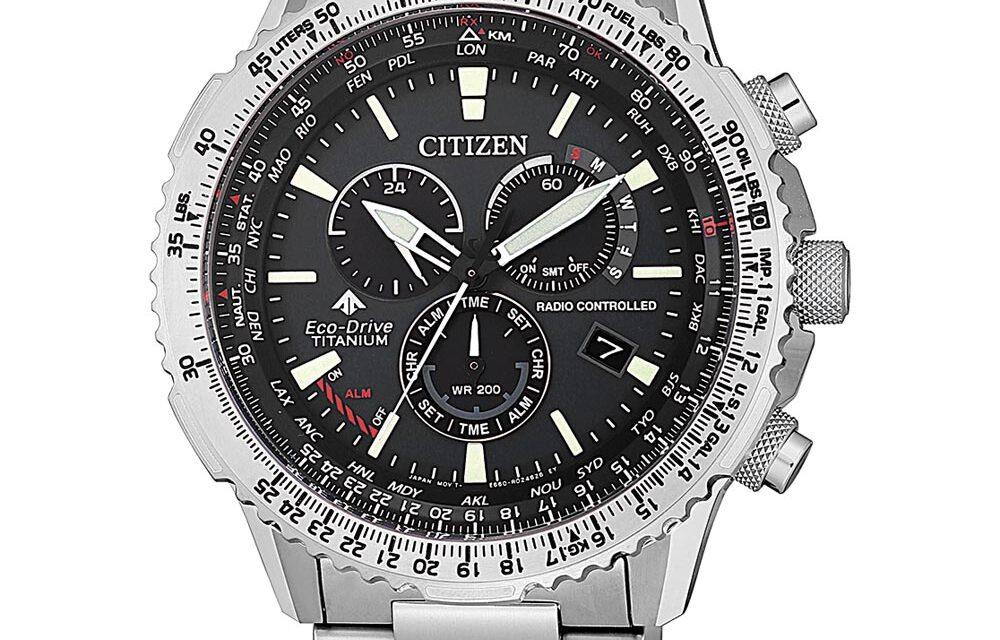 Funkuhr Citizen CB5010-81E