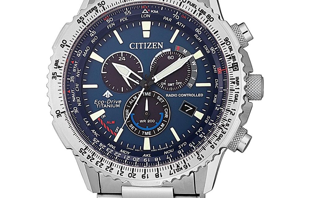 Funkuhr Citizen CB5010-81L