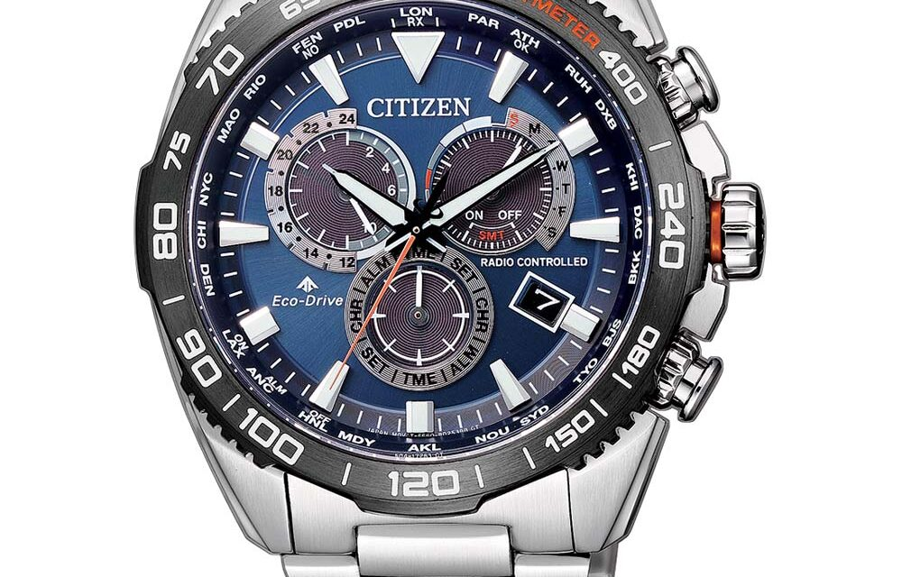 Funkuhr Citizen CB5034-82L