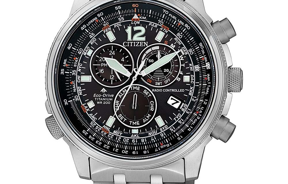Funkuhr Citizen CB5850-80E