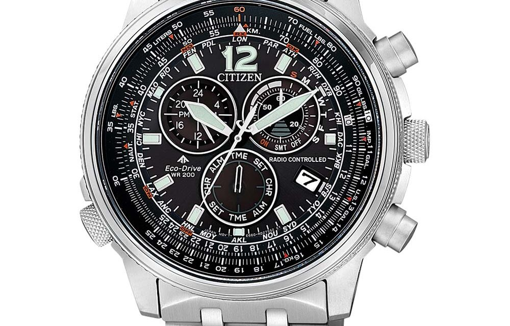 Funkuhr Citizen CB5860-86E