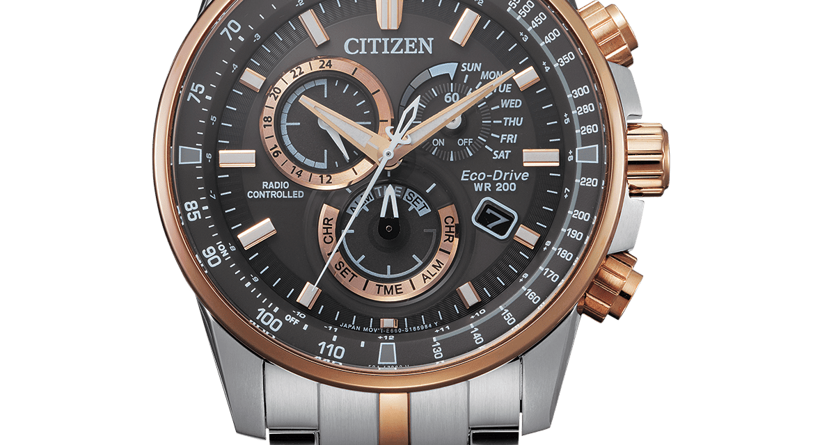 Funkuhr Citizen CB5886-58H