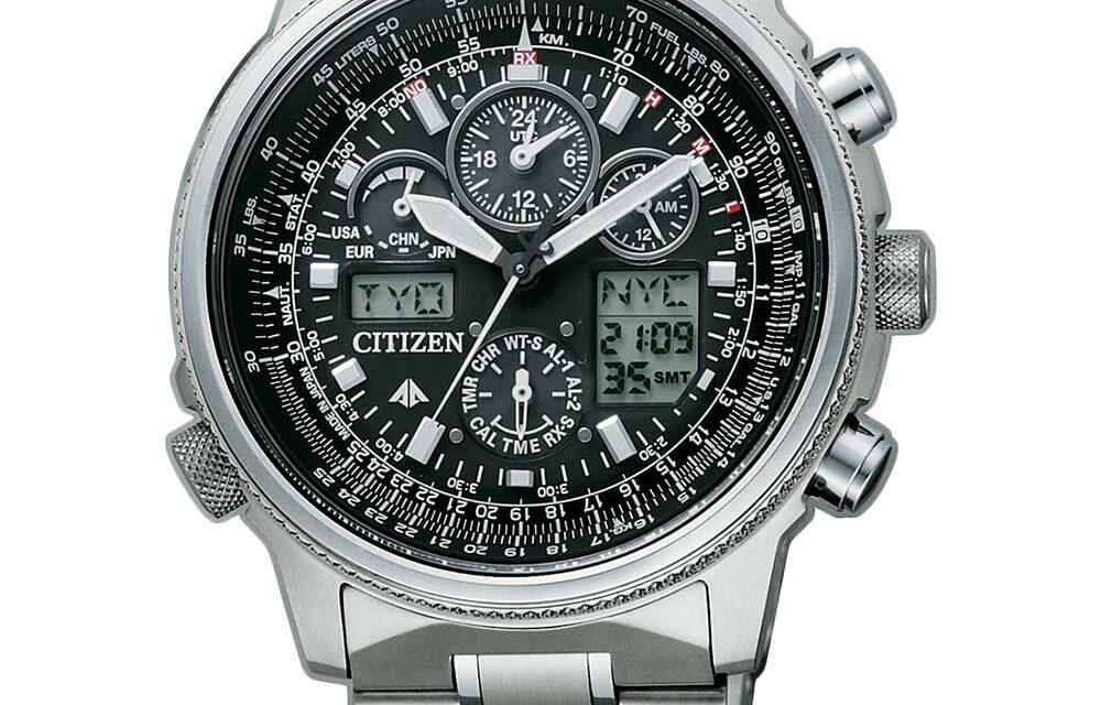 Funkuhr Citizen JY8020-52E